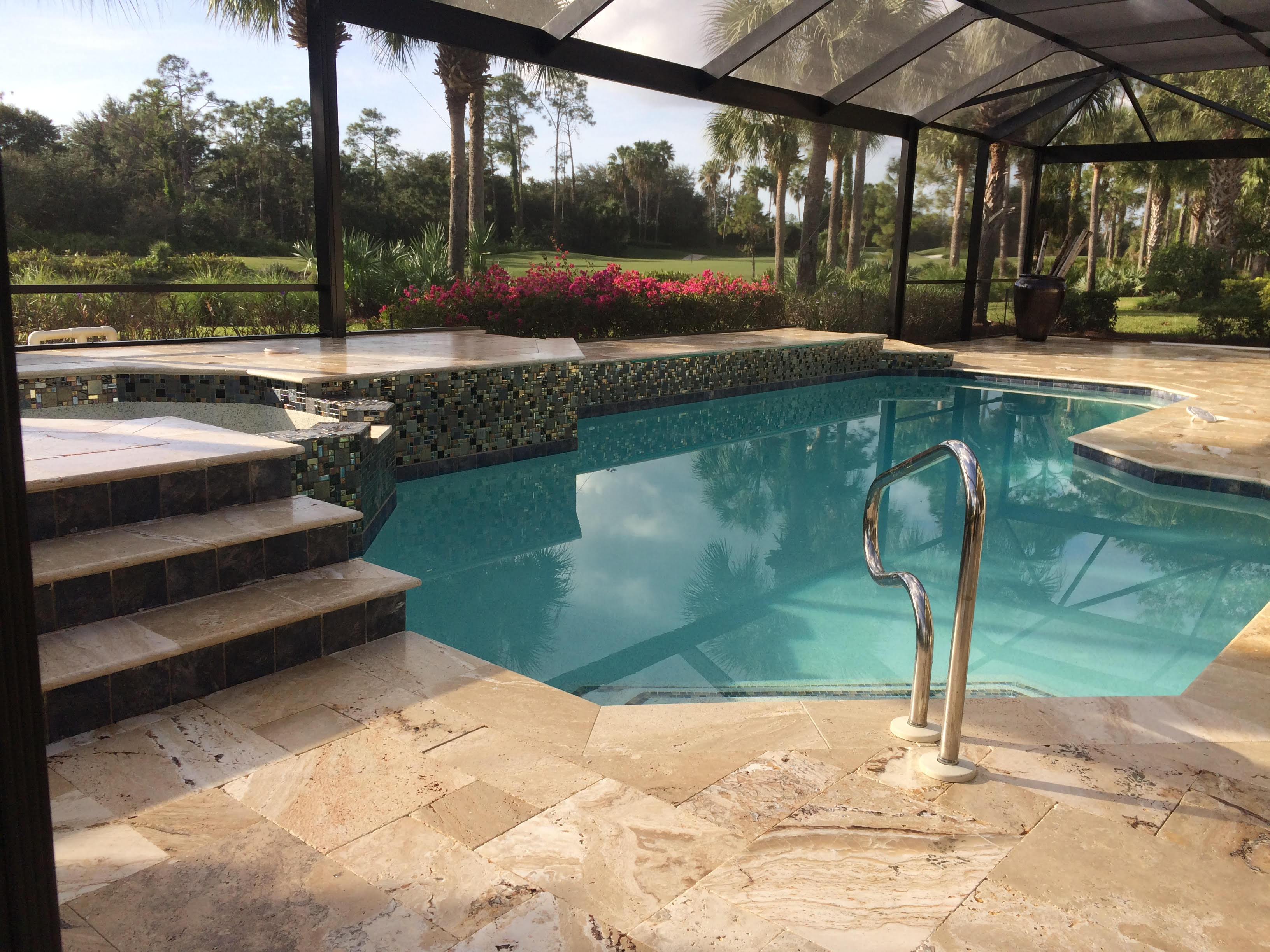 Naples Pressure Washing Home Driveway Tile Roof